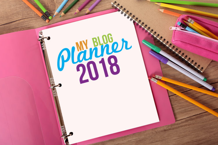 Free Blog Planner 2018 | A Well Crafted Blog
